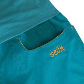 Ocun Noya Pants Women Blue/Yellow